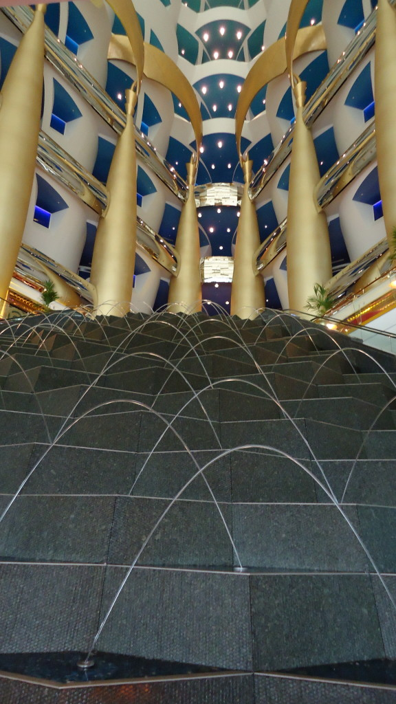Opulence inside Burj Al Arab