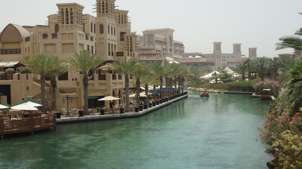 3 km of waterways interconnect the Madinat Jumeirah