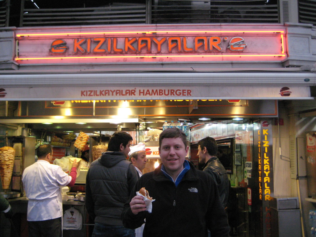 Hamburgers at Kizilkayalar