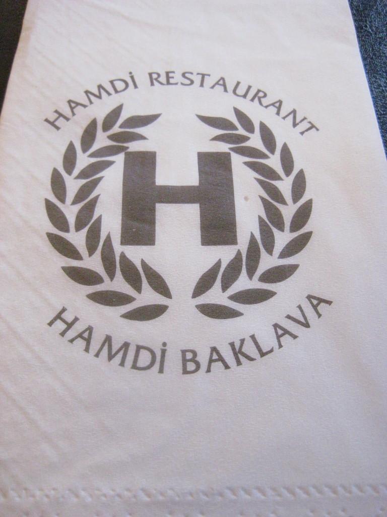 Hamdi- my favorite restaurant in Istanbul