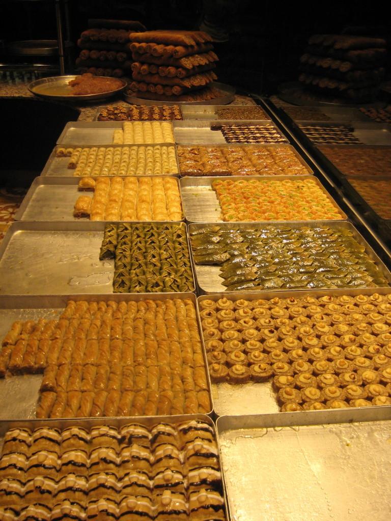Baklava- Sweet treats in Istanbul