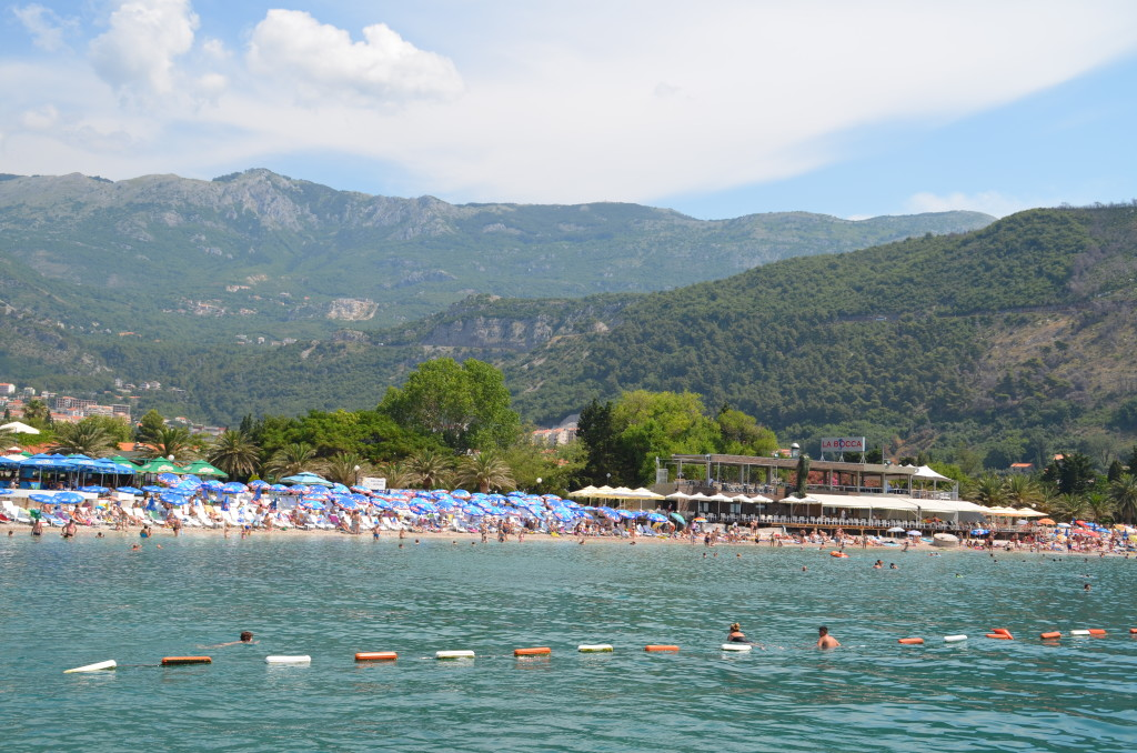 Beach at Budva