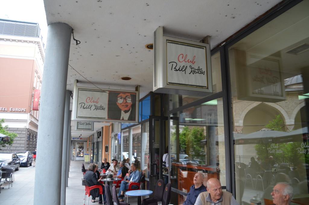 Club Bill Gates in Sarajevo