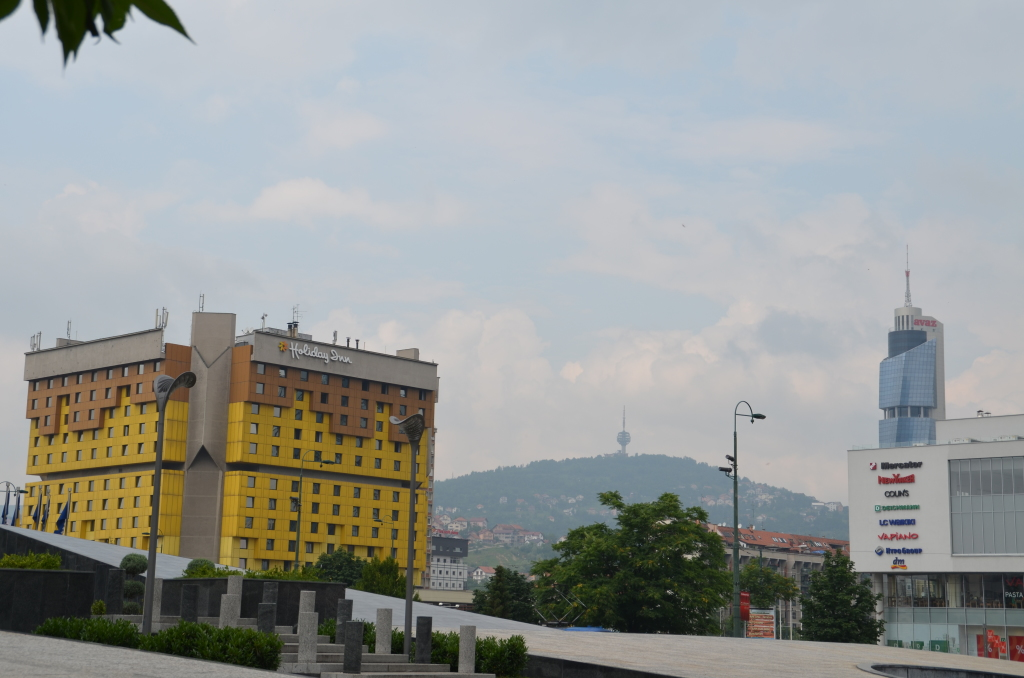 The Iconic Holiday Inn in Sarajevo