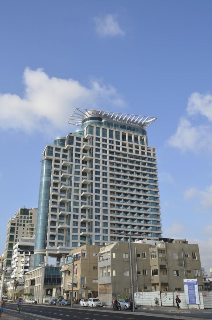 View of the Royal Beach Tel Aviv