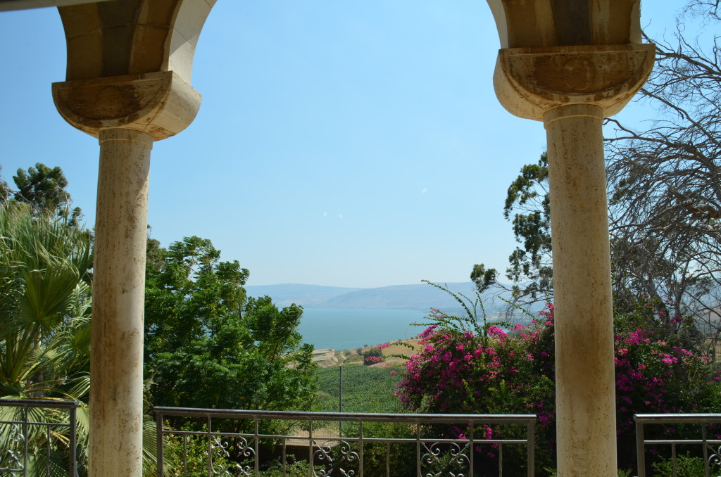 A view from Mount Beatitudes - proposed site of the Sermon on the Mount