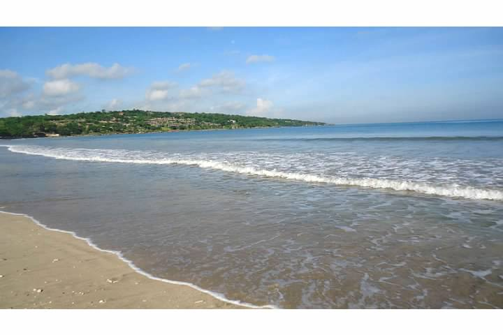 Jimbaran Bay in Bali - our home base for five nights