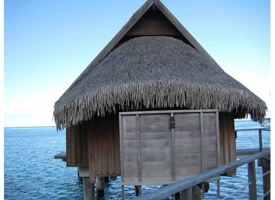 Our overwater bungalow at Sofitel Moorea