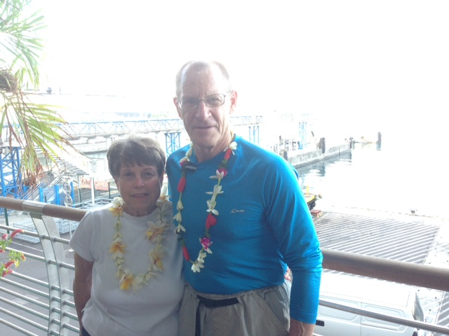 My parents enjoying their anniversary in Moorea
