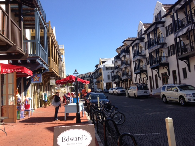 European feel to Rosemary Beach
