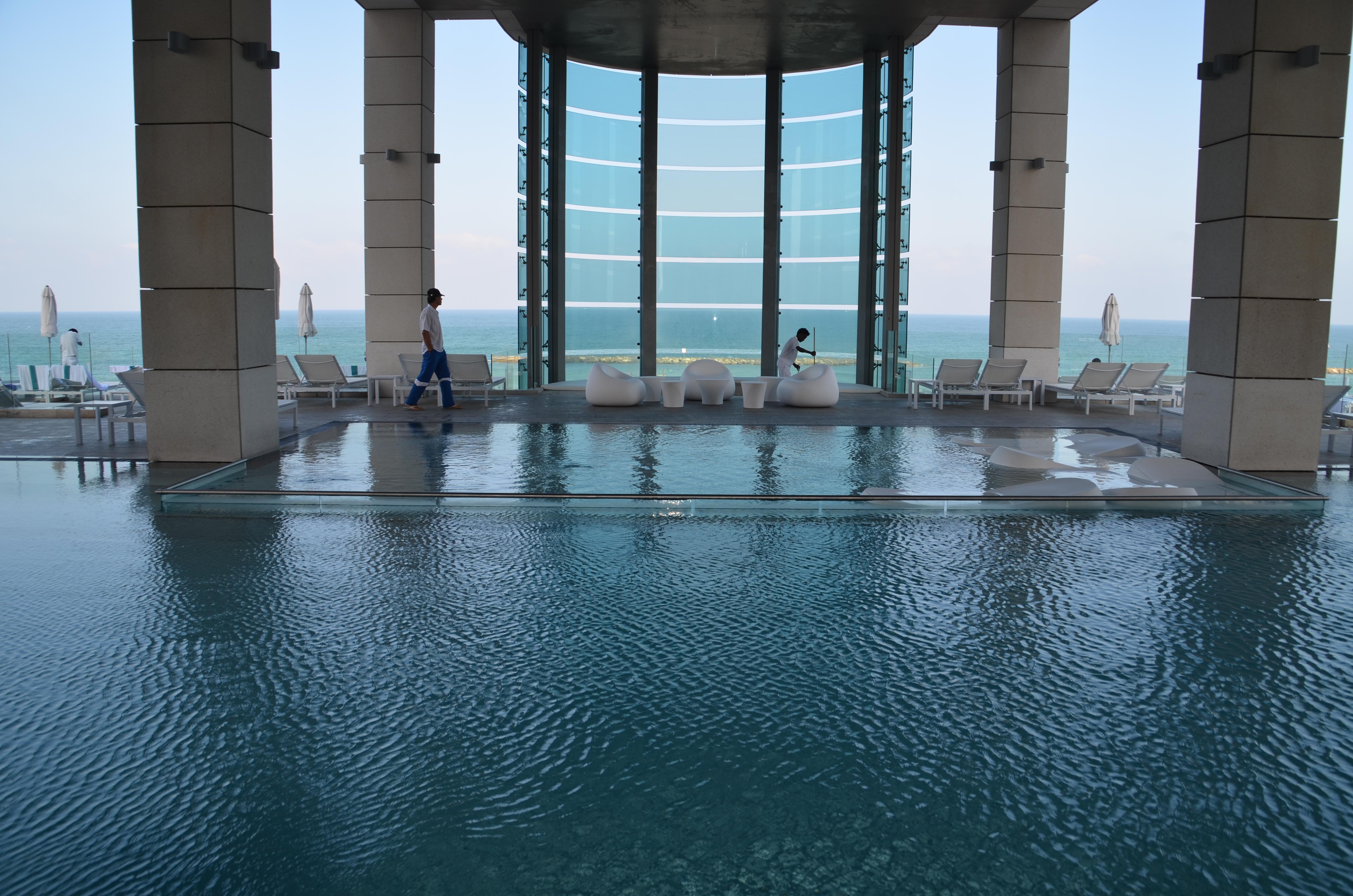 View Of The Pool Royal Beach Tel Aviv